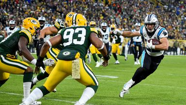 Panthers 16-24 Packers