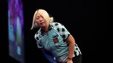 Suzuki nearly makes Ally Pally history