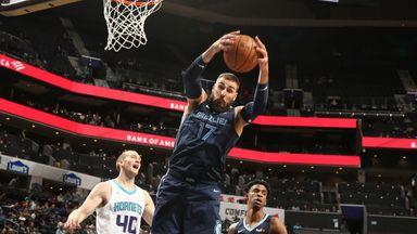 NBA Wk4: Grizzlies 119-117 Hornets