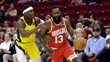 NBA Wk4: Pacers 102-111 Rockets