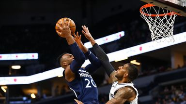 NBA Wk4: Spurs 114-129 Timberwolves
