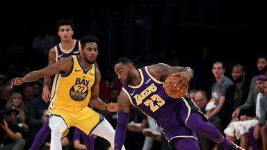 NBA Wk4: Warriors 94-120 Lakers