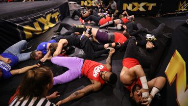 NXT, Raw and SmackDown superstars do battle