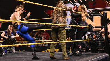 Raw, SmackDown and NXT women brawl