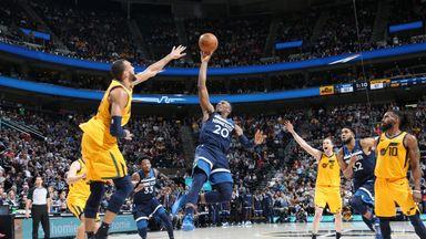 NBA Wk5: Timberwolves 112-102 Jazz