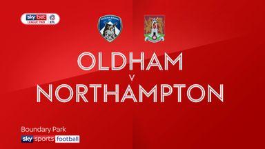 Oldham 2-2 Northampton