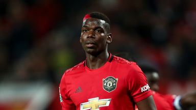 Raiola: Man Utd not matched Pogba's ambition