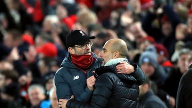 Klopp: I feel for Pep and City players