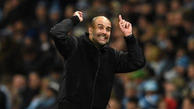 Pep: I'm not thinking about title race