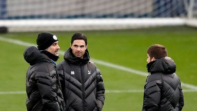 Pep quiet on Arteta-Arsenal links