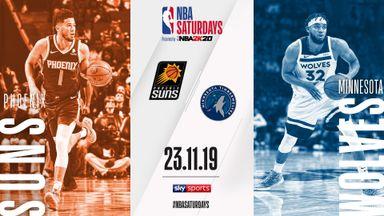 NBA Saturday Primetime: Suns @ T-Wolves
