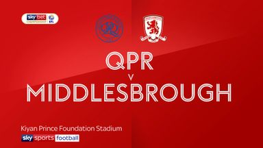 QPR 2-2 Middlesbrough