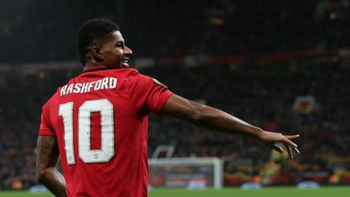Rashford's left foot delights Solskjaer