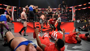 Raw ends with brand brawl!