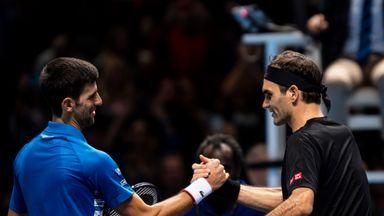 Highlights: Federer knocks Djokovic out