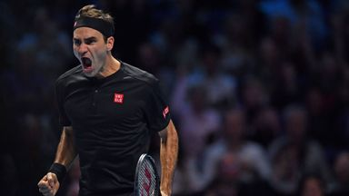 Highlights: Federer knocks Djokovic out
