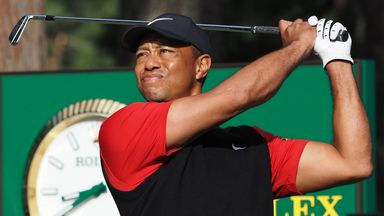 Woods: I was urged to pick myself