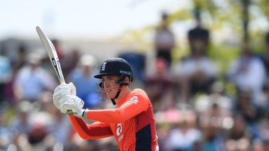 Banton hits first England six