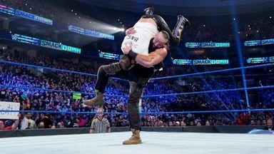 Strowman bashes The B-Team