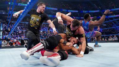 The Undisputed ERA crash SmackDown!