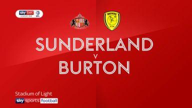 Sunderland 1-2 Burton