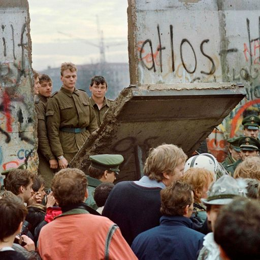 The Berlin Wall may have gone but East-West tensions are as potent as ever