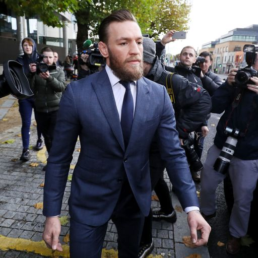 Conor McGregor fined for punching man in Dublin pub