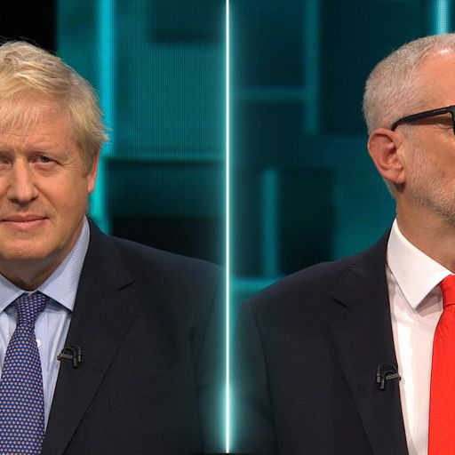 Johnson and Corbyn challenged on spending promises in TV debate