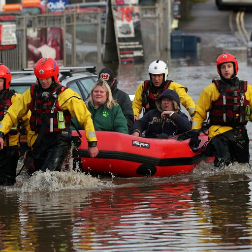 UK weather: 'Danger to life' severe flood warnings issued as river levels rise