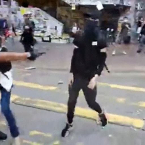 Further Hong Kong clashes after man shot