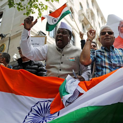Indian nationalists campaign against Labour
