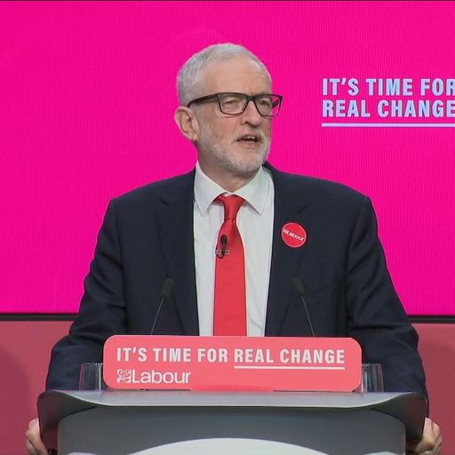 Analysis: Labour manifesto launch shows Corbyn is trying to recast Brexit as a howl of outrage