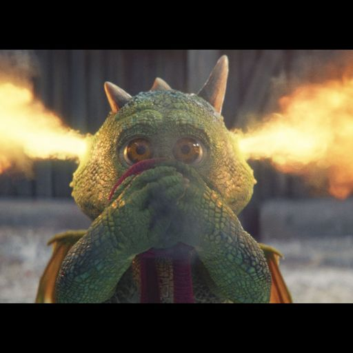 Excitable Edgar: John Lewis releases its Christmas advert featuring dragon