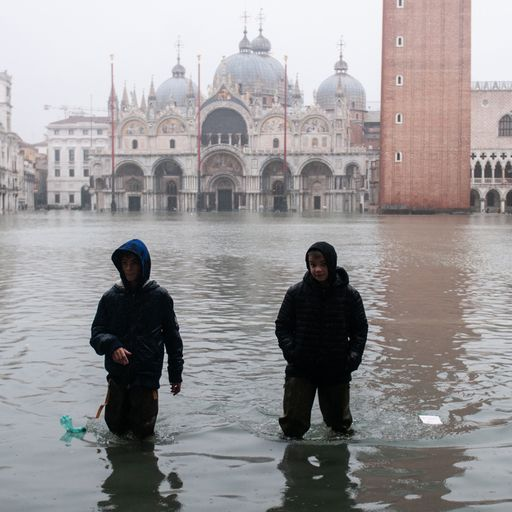 '60 years to save Venice': Crumbling city at 'point of no return'