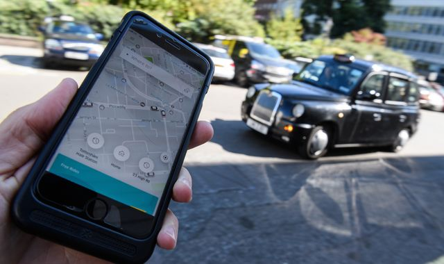Uber submits appeal against London regulator's ban
