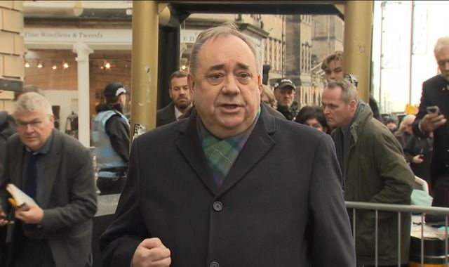 Alex Salmond accused of lying naked on woman and trying to rape her