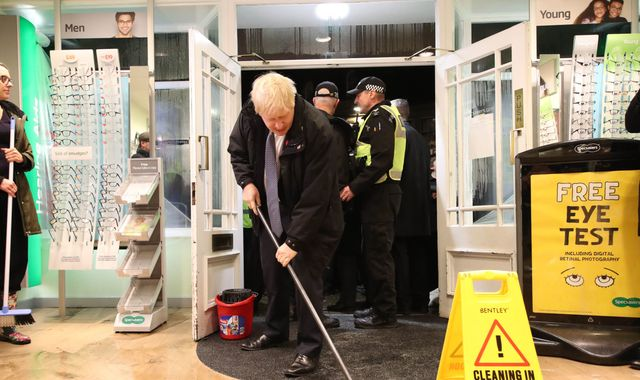 UK weather: Boris Johnson says flooding does not amount to a 'national emergency'