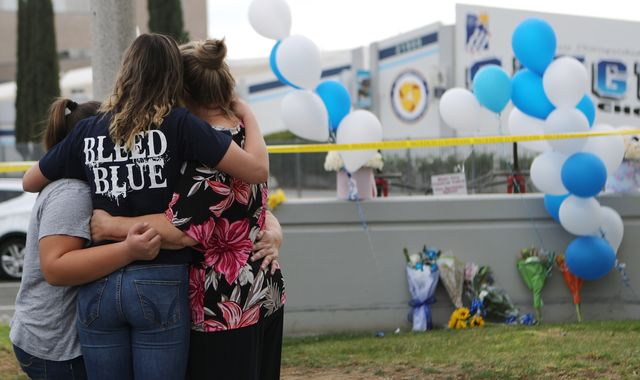 California school shooting: Teen gunman dies after killing two in 16th birthday attack