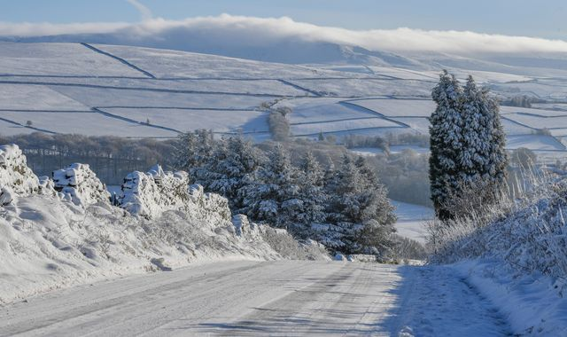 UK weather: Temperature falls to almost -10C in parts of UK