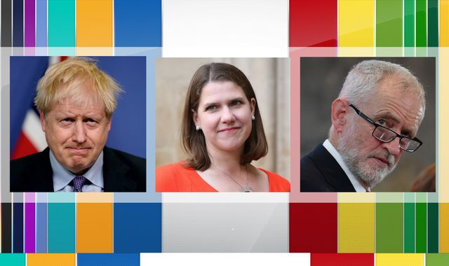 General election: Johnson, Corbyn and Swinson court business vote at Confederation of British Industry