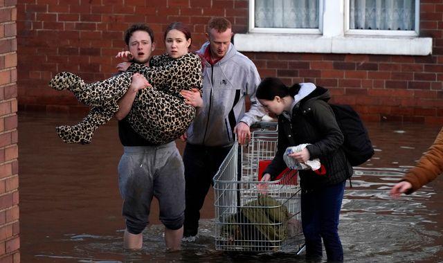 'Danger to life': Seven severe flood warnings remain after deluge