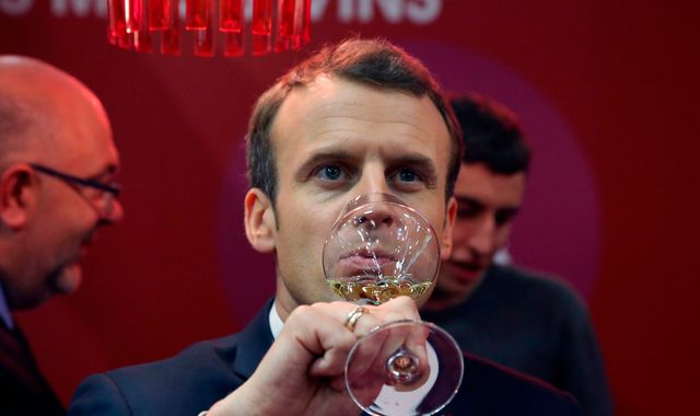 Emmanuel Macron says 'non' to replica of UK's Dry January campaign