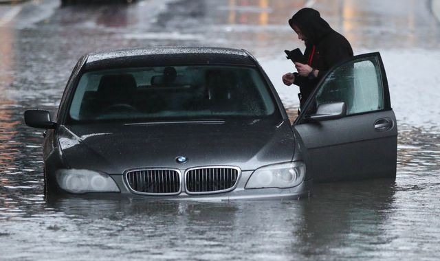 UK weather: More than 100 flood warnings across Midlands and Yorkshire