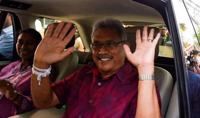 Sri Lanka election: Ex-defence chief Gotabaya Rajapaksa set to win vote