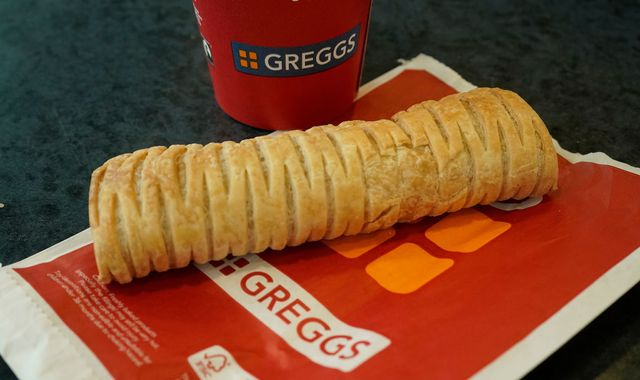 Greggs: Vegan sausage roll helps boost profit forecast for Britain's biggest baker