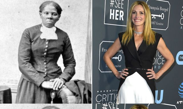 Julia Roberts 'was first choice' to play black abolitionist Harriet Tubman