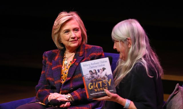 Hillary Clinton: Grown-up male leaders are scared of Greta Thunberg