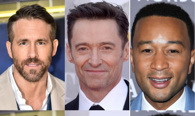 "Hugh Jackman trolls Ryan Reynolds over John Legend's ""Sexiest Man Alive"" win"