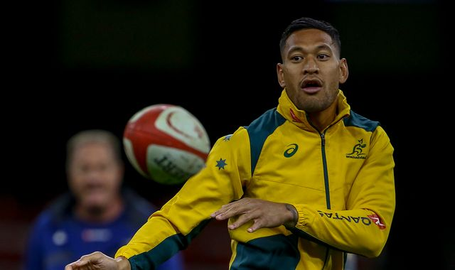 Israel Folau: Disgraced rugby star links bushfires with Australia's same-sex marriage laws