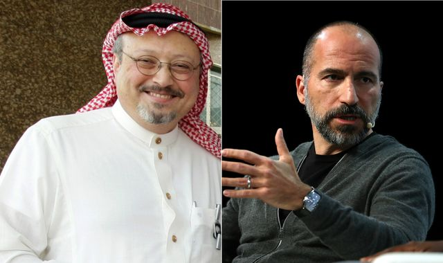 Uber CEO admits he was 'wrong' to call murder of Jamal Khashoggi 'a mistake'